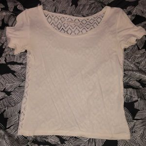 AERO CROP TOP WITH OPEN BACK